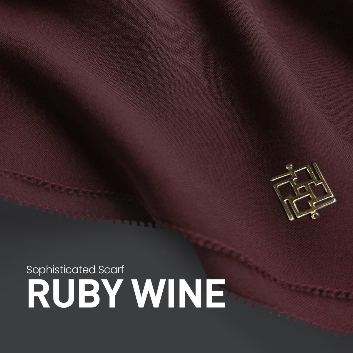 Sophisticated Fringe Ruby Wine