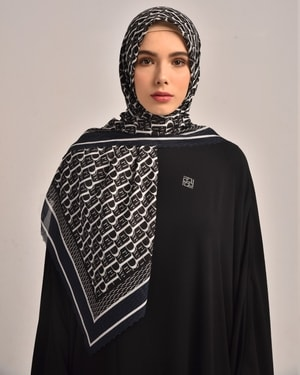 Prive Black Scarf