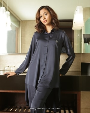 Secret Love in Navy Pajama Sets