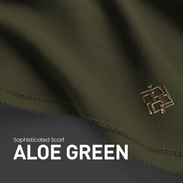 Sophisticated Fringe Aloe Green