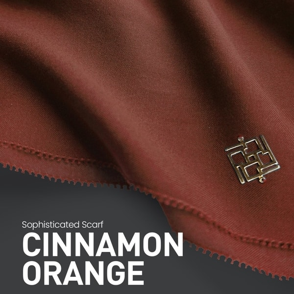 Sophisticated Fringe Cinnamon Orange