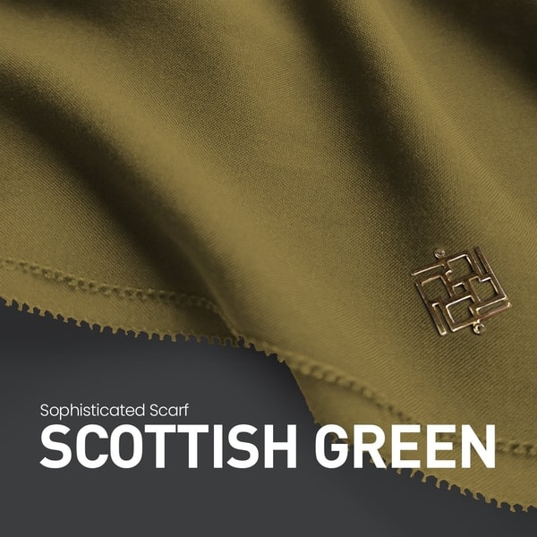 Sophisticated Fringe Scottish Green