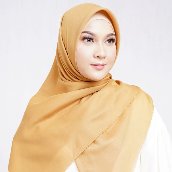 Delicate Scarf Golden Yellow