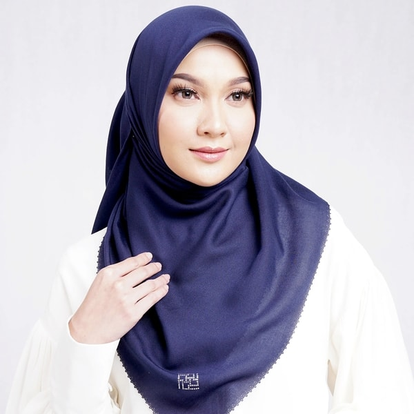 Delicate Scarf Navy Blue