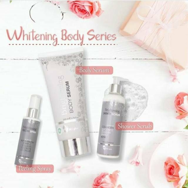 Paket ms glow body series dari www.ms-glow.store