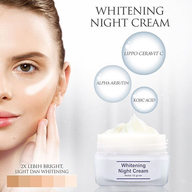 MS Glow Whitening Night Cream (Informasi & Kandungan Produk)