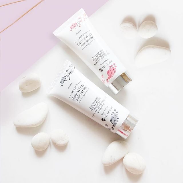 Easy Bright Body Series: Serum & Lotion Premium Product
